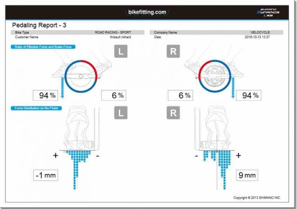 3D Pedaling Analyser